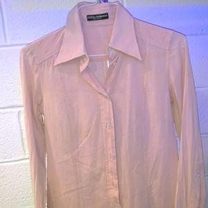 Dolce & Gabbana women's button-down blouse